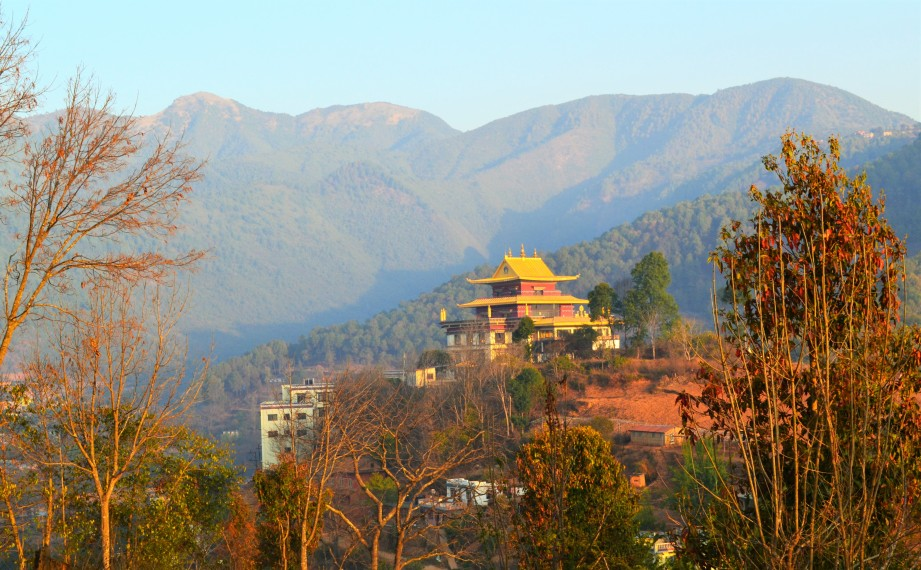 Venue for the Nepal yoga teacher training