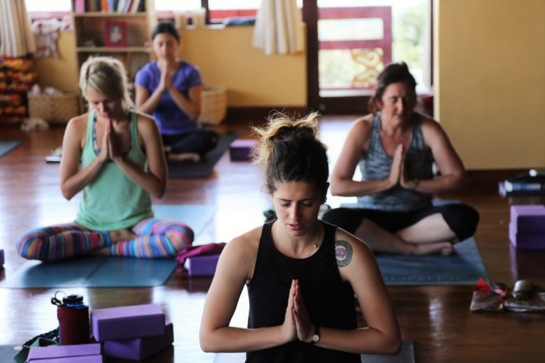 Peace during yoga teacher training in Nepal
